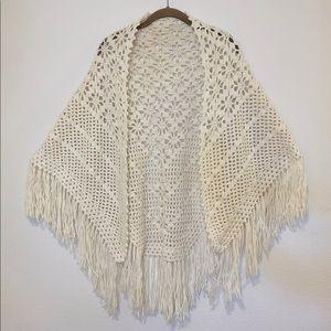 Accessories - Handmade crochet shawl